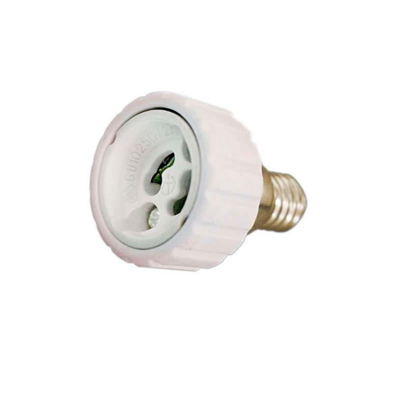 Adapter/converter for  E14 and GU10 bulbs